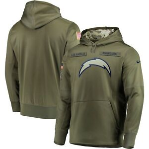 01eaa8d89 Nike Los Angeles Chargers 2018 Mens NFL Salute to Service Therma STS ...