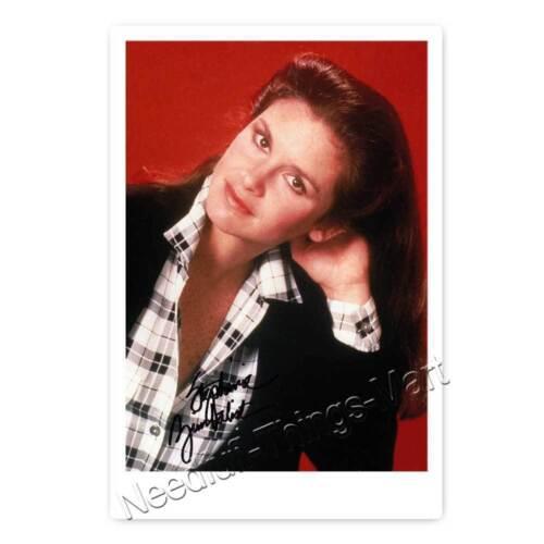 Stephanie Zimbalist aus der Serie Remington Steel - Autogrammfotokarte 
