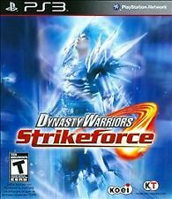 PlayStation 3 Dynasty Warriors: Strikeforce VideoGames