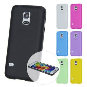 Ultra-Slim-Case-Samsung-S5-mini-Schutz-Fein-Matt-Skin-Huelle-Cover-Schale-Folie