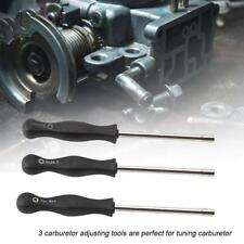 3Pc Carburetor Adjusting Tools Carb Tuning Service Screwdrivers Set Repair Kit B