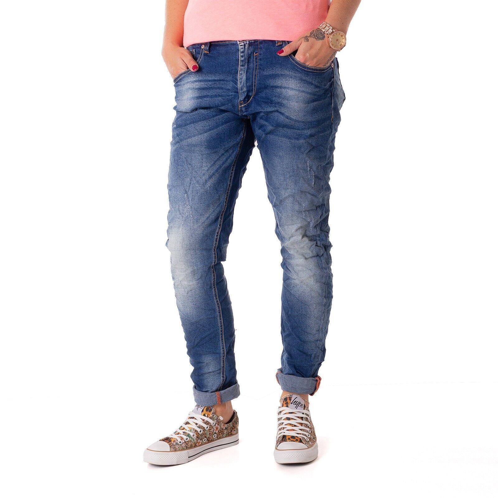 MODA DENIM ifth17m246 jeans aderente Pantaloni Donna Donna Donna usedhell 15744 2a103e