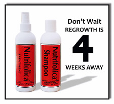 REGROWTH HAIR RESTORATION TREATMENT SHAMPOO END LOSS & NO minoxidil side effects