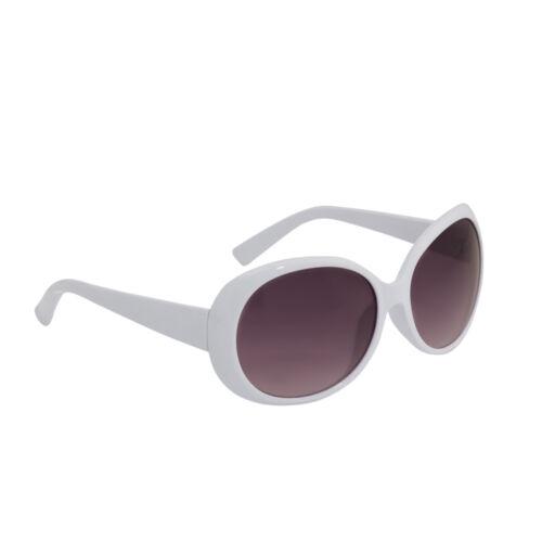 Occhiali Da Sole Donna Cornice Ovale Oversize Stile Elegante Rosso Nero Bianca