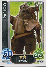 Star Wars Force Attax : Force Awakens Set 1 #28 Paploo