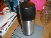 Thermos Thermocafe Stainless Steel Vacumn Insulated Beverage Bottle 25 Oz.