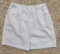 Le' Za Me Boy's Kids Solid White Shorts