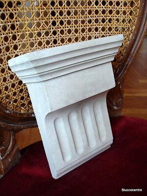 Gehorsam Klassische Fassadenstuck - Stucco Konsole Aus Beton 105-1137b - Stuck Fassade