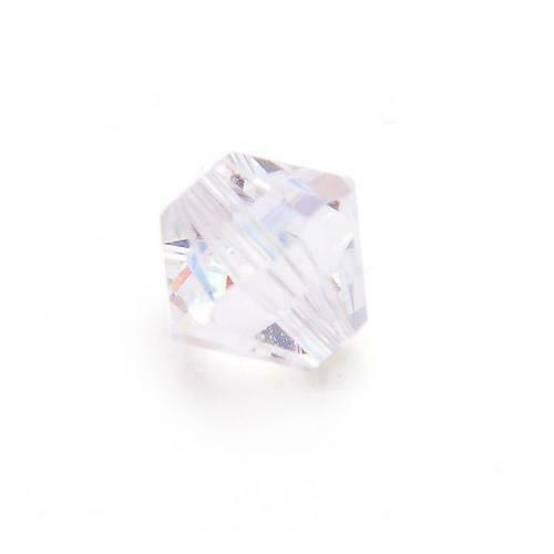 Pcs Art Hobby Jewellery Czech Crystal Glass Faceted Bicone Beads 3mm Clear 650