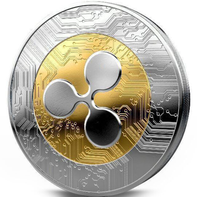 1pcs Ripple Coin XRP Crypto Commemorative Ripple XRP Collectors ...