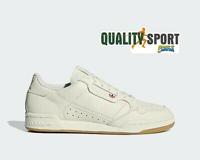 Adidas Continental 80 Beige Scarpe Shoes Uomo Sportive Sneakers BD7975 2019 | eBay