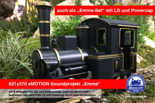 "MASSOTH 8201001 Sound projet /""Emma/"" et /""Emma-Set/"" article neuf"