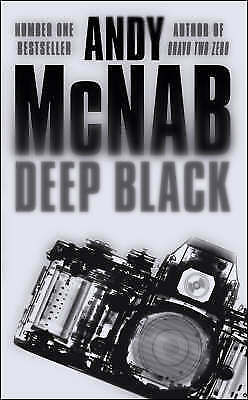 """AS NEW"" DEEP BLACK, McNab, Andy, Book"