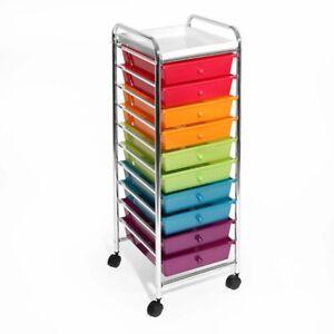 Image Is Loading Organizer Bo Plastic Makeup Art Supplies Craft Rolling