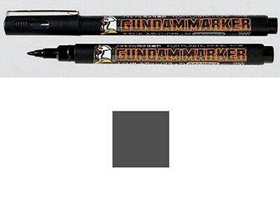 Bello Gundam Marker Gm21 Gray Sumi-ire Brush Pen Gunpla Pennarello Grigio Gsi Creos Impermeabile, Resistente Agli Urti E Antimagnetico