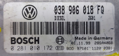 TUNED !!! VW PAT ECU 1.9 TDI 90 AHU 038906018FQ IMMO OFF PLUG&PLAY on