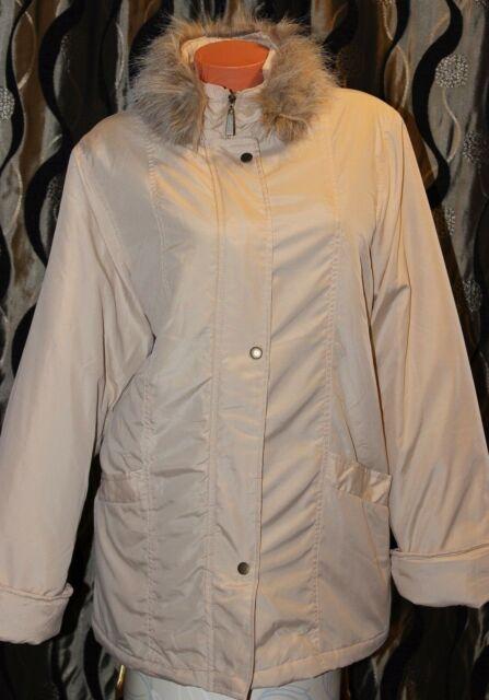 NEXT Womens Coat Jacket Cream Autumn Winter Warm Size 18 PLUS SIZE | eBay