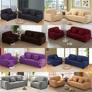 Fabulous Details About Soft Solid Micro Suede Sofa Loveseat Armchair Cover Slipcover Protector Couch Gmtry Best Dining Table And Chair Ideas Images Gmtryco