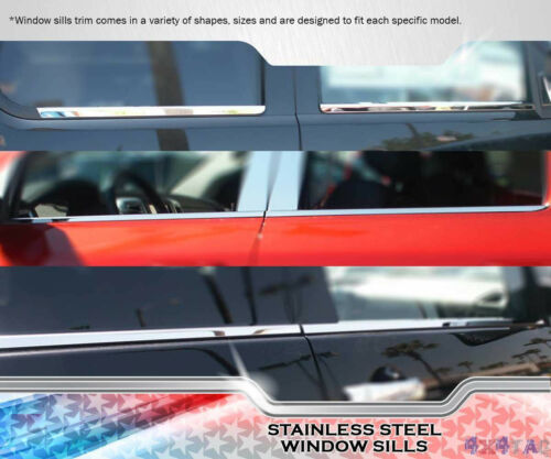 FOR 2008 2009 2010 2011 2012 FORD ESCAPE STAINLESS WINDOW SILL TRIMS OVERLAYS