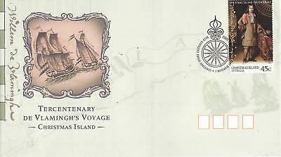 1996 Xmas Is Tercentenary De Vlamingh's Voyage FDC
