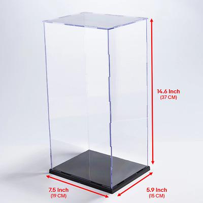 "1//6 Scale 12/"" Figure Rangers Acrylic Box Display Case Box Aluminum Pillar Beam"