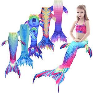 15352e2276de New Kids Girls Women Sparkle Mermaid Tail Monofin Swimmable Wear ...