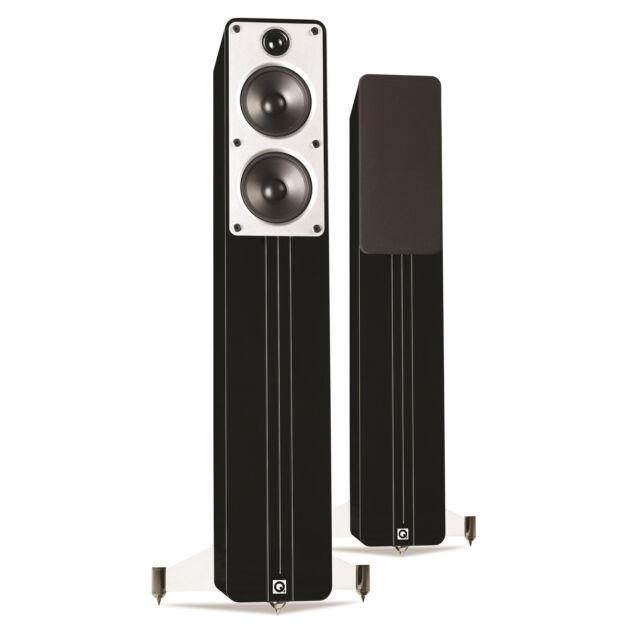 Q Acoustics Concept 40 Floorstanding Speaker Pair (Gloss Black)