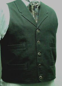 Brown Frontier Classics Old West Victorian Mondwest Fils Style Homme Gilet Neuf-afficher Le Titre D'origine Avec Des MéThodes Traditionnelles