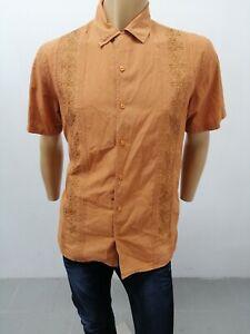 Camicia-GAS-Uomo-Taglia-Size-XL-Shirt-Man-Chemise-Homme-Camicia-Cotone-P-7297