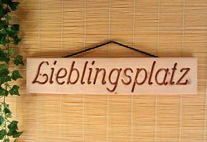 Lieblingsplatz-Holz-Dekoschild-Wandschild-Douglasie-massiv-natur-55-cm-lang