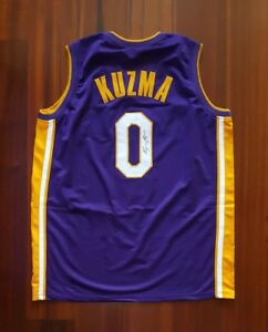 5f75b330024 Image is loading Kyle-Kuzma-Autographed-Signed-Jersey-LA-Lakers-JSA