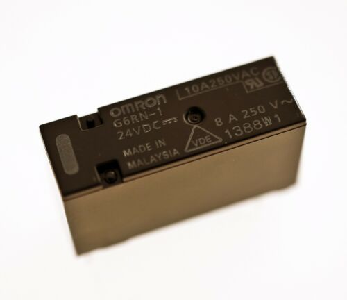 OMRON G6RN-1 24VDC 8A Printmontage 1 Wechsler Leistungsrelais #715722