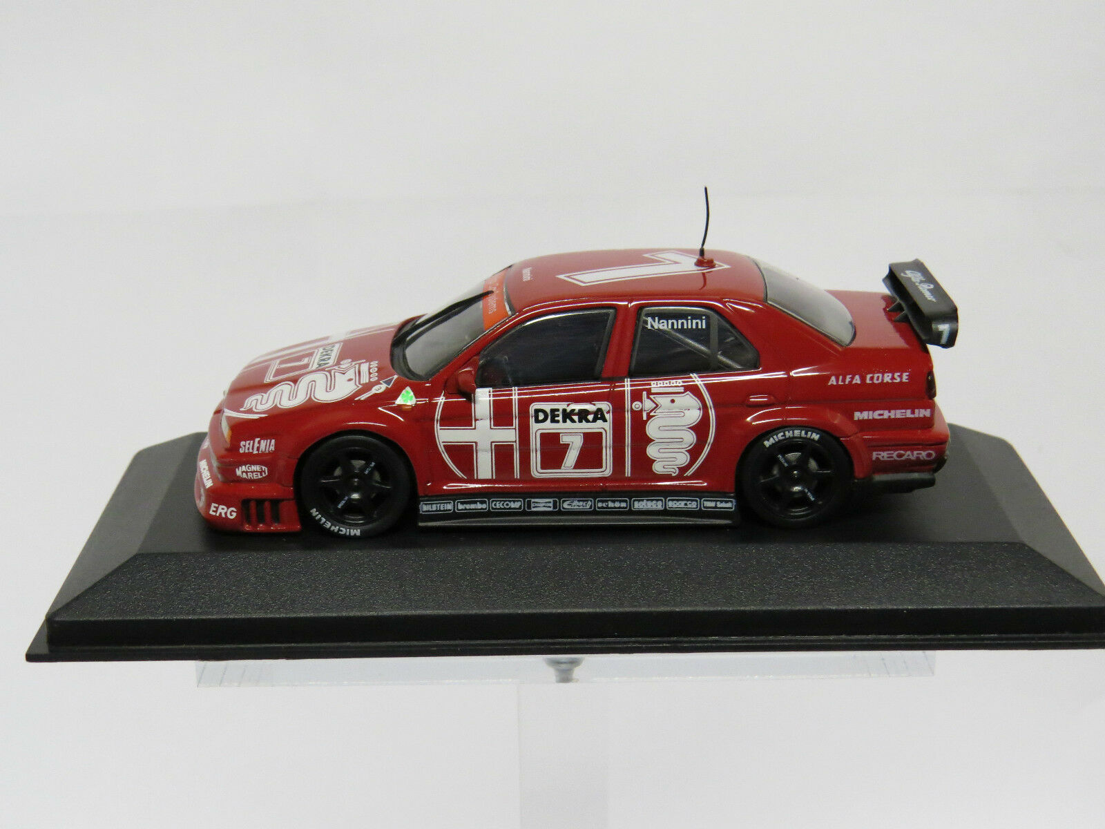 Alfa Romeo 155 V6 TI DTM 1993 Nannini 1 43 Minichamps Nr. 930120