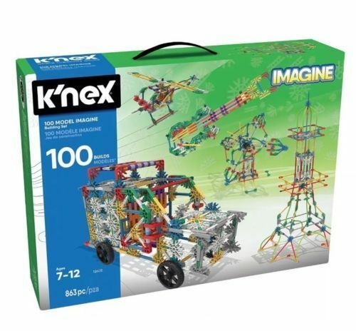 K'NEX 100 Best Model Kinex 863 Piece Set Building Educational Toy Classroom EG05