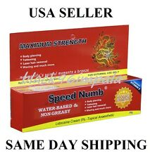 30g Speed Numb  Lidocaine skin cream waxing tattooing piercing derma rolling