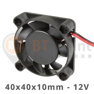 Axial-Luefter-40x40x10mm-12V-0-06A-Fan-Cooler-3D-Drucker-Printer-Hotend-40mm-4010