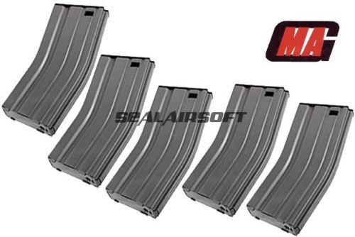 MAG 190rd Real Finish METAL Airsoft Toy Magazine For Marui STD G&P CYMA AEG 5PCS