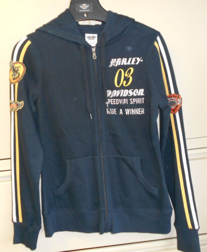 Harley Davidson Women/'s Black Hoodie 96344-13VW