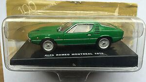 DIE-CAST-034-ALFA-ROMEO-MONTREAL-1970-034-100-ANNI-DELL-039-AUTOMOBILE