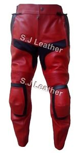 echt Heren bescherming motorfiets Deadpool armor broekbroekCe lederen IfvyY76gb
