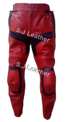 Deadpool bescherming lederen echt armor broekbroekCe Heren motorfiets rxWEQCBode
