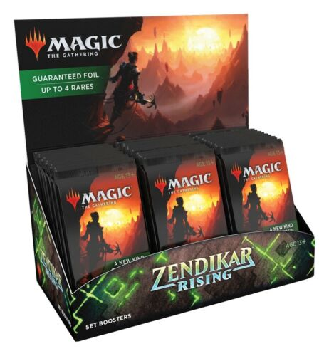 MTG Magic The Gathering ZENDIKAR RISING  SET BOOSTER SEALED BOX