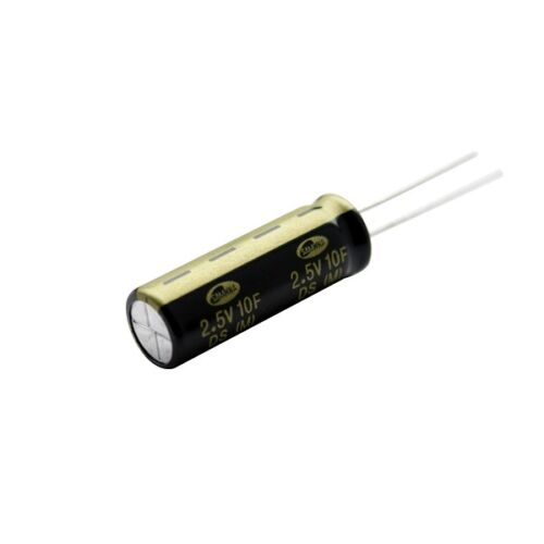 10F 2,5 V green-cap radial électrique double couche condensateur