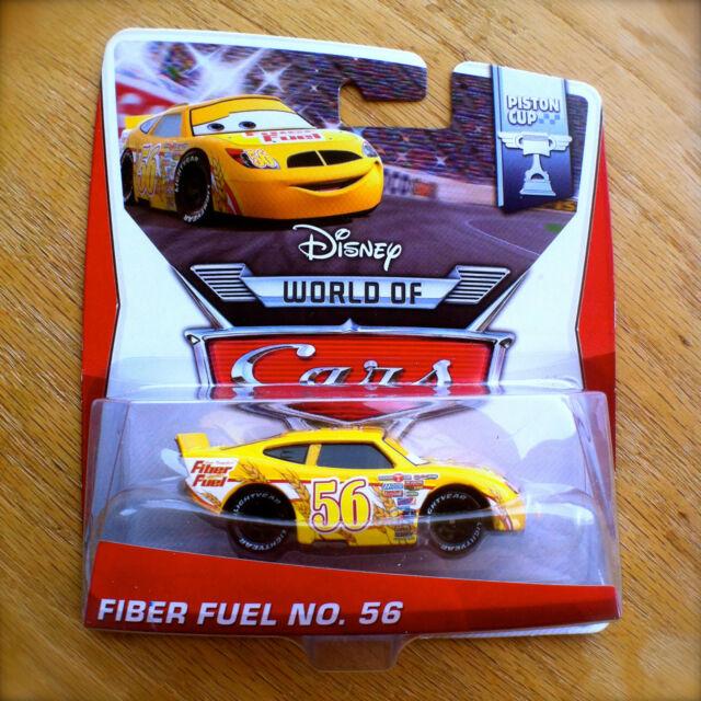 Disney World of Cars FIBER FUEL NO. 56 NEW 2014 PISTON CUP theme diecast 13/16