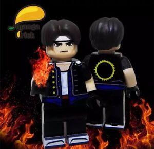 Details about *New*MANGA BRICK Custom The King Of Fighters Kyo Kusanagi  Lego Minifigure