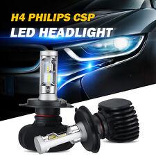 2x H4 HB2 9003 PHILIPS CSP LED Car Headlight Hi/Lo Beam Bulbs 180W 18000LM 6500K