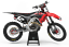 Honda-Factory-Red-Black-Graphics-Kit-CRF-250-450-2015-2016-2017-2020-All-Years thumbnail 1