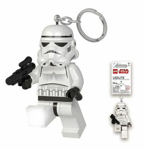 LEGO Star Wars Stormtrooper with Blaster LED Lite Key Chain Ring Light NEW