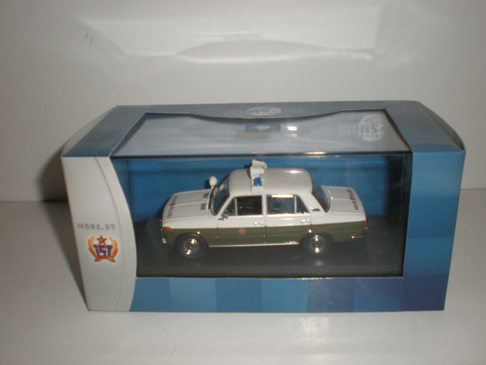 1 43 1973 LADA-2103 Volkspolizei German police Made by Cars & Co