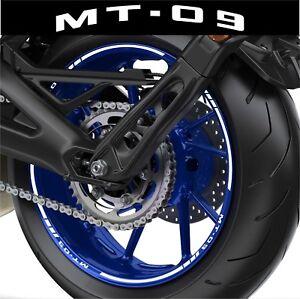 Details Zu Einfassung Felgen Motorrad Mt09 Mt 09 Aufkleber Satz Für 2 Felgen 40 Farben